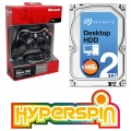 2TB Hyperspin Drive with Controller