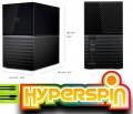HyperSpin Hard Drive 16TB Western Digital My Book Duo Retro Arcade Games USB 3.1