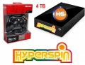 4TB Pre-configured Hyperspin Hard Drive EXTERNAL + Microsoft Wireless Controller & Receiver