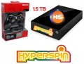 1.5TB Hyperspin Hard Drive EXTERNAL with Microsoft Xbox 360 Wireless Controller & Receiver